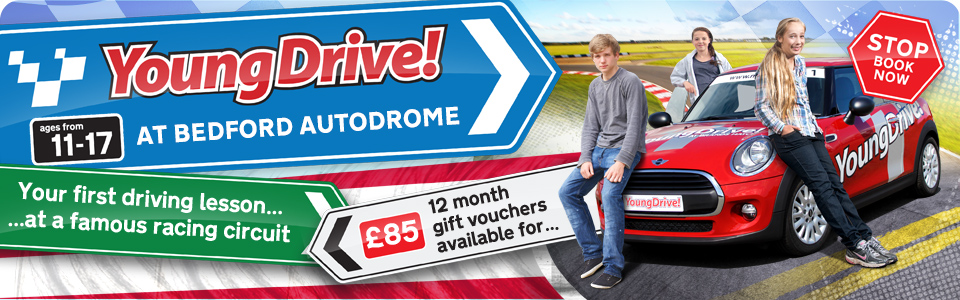 YoungDrive at Bedford Autodrome